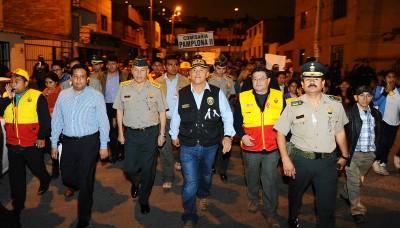 Seguridad en San Juan de Miraflores será reforzada con 250 policías del grupo Terna