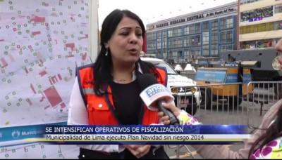 Navidad 2014: Municipalidad de Lima inicia operativos para garantizar la seguridad en estas fiestas