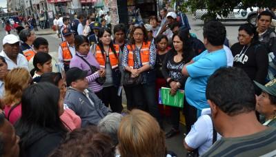 Municipalidad de Lima reubica a comerciantes del Mercado Central por fiestas de fin de año