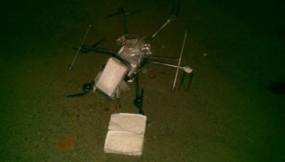 México: Utilizan drones para transportar drogas