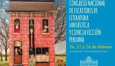 Anuncian 5° Congreso de Escritores de Literatura Fantástica y Ciencia Ficción Peruana