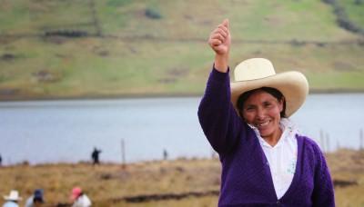 Congresista Verónika Mendoza exige a Urresti aclare intervención en propiedad de Máxima Acuña