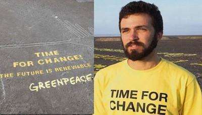Procede la extradición del ciudano argentino de Greenpeace por daños a las Líneas de Nasca