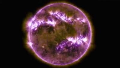 Video: 5 años de la vida del sol en sólo tres minutos