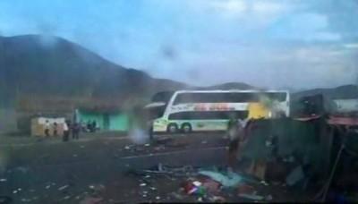 Huarmey: 40 muertos deja un cuádruple choque en la Panamericana Norte
