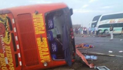 Huarmey: Se declara en alerta roja la zona del accidente