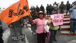 Arequipa: manifestantes aseguran que campesino fue asesinado por la policía