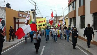 Toda Arequipa se une al paro contra Tía María