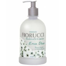 Sabonete Líquido Erva Doce - Contém 500 ml. Fiorucci