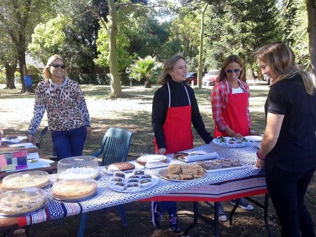 Madres de Acción Social en el Día de la Familia