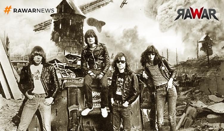 The Ramones - Blitzkrieg bop é a trilha perfeita para jogar Battlefield V