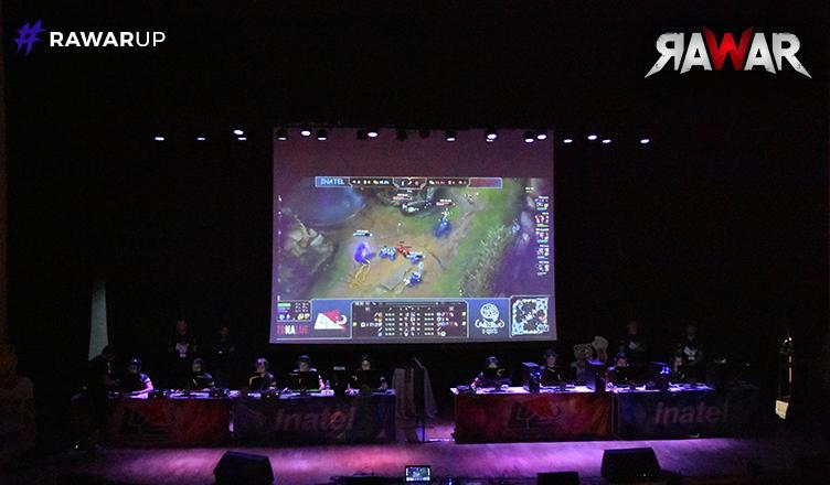 e-Sports: Campeonato de LOL