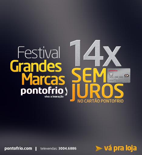 Pontofrio - Festival Grandes Marcas