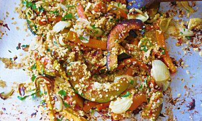 Receitas de Legumes Assados com Quinoa