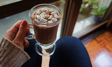 Receita de Chocolate Quente de Vinho tinto