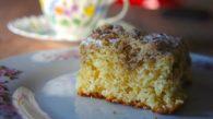 Receita de New York Crumb Cake da Martha Stweart