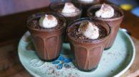 Receita de Panna Cotta de Chocolate