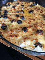 Receita de Bacalhau com Nata (Versão Com e Sem Batata Frita)