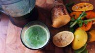 Receita de Suco Verde com Batata Yacon
