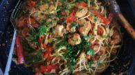 Receita de Espaguete ao Molho Cajun