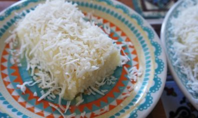 Receita de Bolo de Tapioca com Coco e Leite Condensado