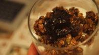 Receita de Barrinha/Granola com Nozes, Sementes, Maçã e Banana Passa
