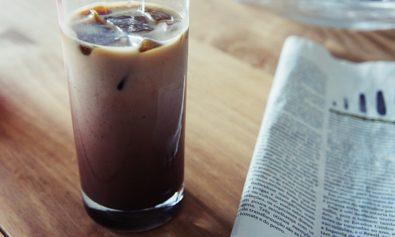 Receita de Café Gelado com Cacau e Gelo de Café do Matheus