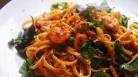 Receita de Linguine com Camarão do Jamie Oliver