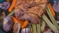 Ombro de porco assado pururuca do Jamie Oliver