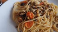 Receita de Espaguete com Sardinha Portuguesa, Ora viva.