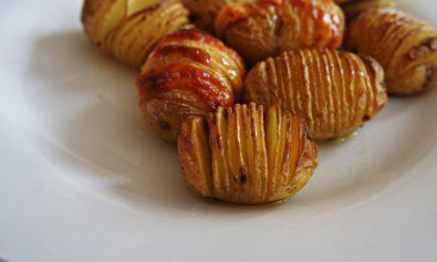 Receita de Hasselback potato