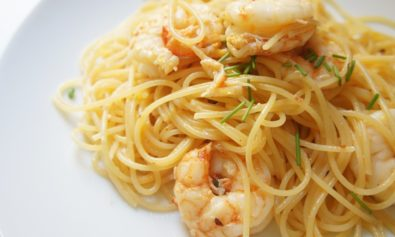 espaguete-com-camarão