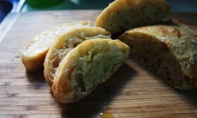 Receita de Pão Ciabatta (Italiano)
