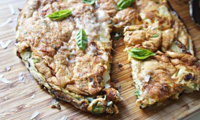 Receita de Omelete Sufle de Alcachofra e Pimentão