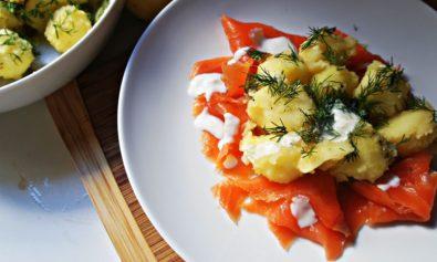 Salada de Batata Boa para Comer com Peixe