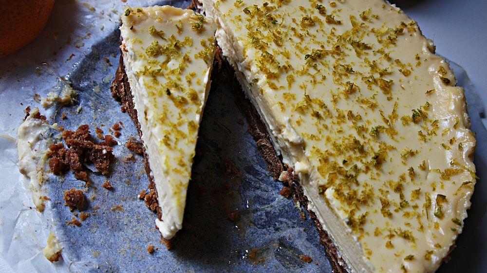 Tortinha de Limão Fácil com Ricota e Cream Cheese