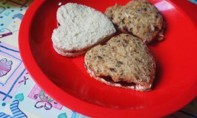 Sandwiche de Geléia de Morango para Bebês
