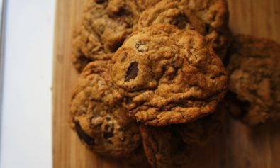 Cookies de Chocolate e Noz Pecan