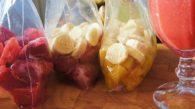Receitas de Sucos e Smoothies com Frutas Congeladas