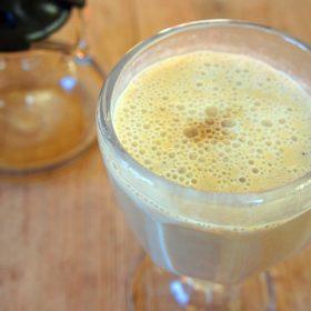 Receita de Vitamina de Banana e Leite Condensado com Café