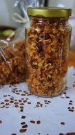 Receita de Granola Crocante com Frutas Secas e Nozes