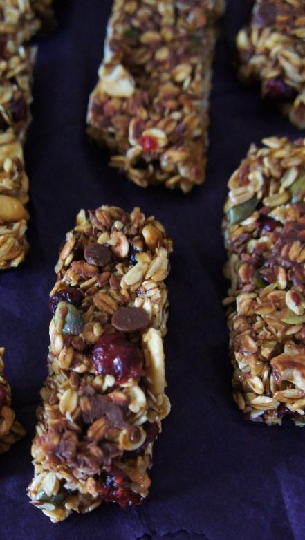 Receita Simples de Barrinha de Cereal