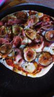 Receita de Pizza de Figo com Presunto Parma