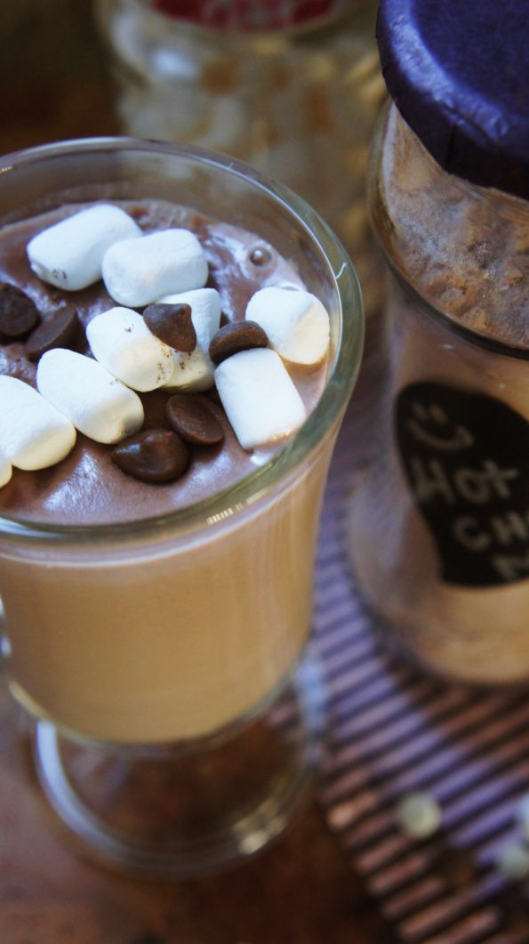 Receita de Mistura de Chocolate Quente