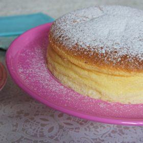 Receita de Cheesecake Japonesa