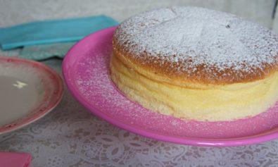 Cheesecake Japonesa bem Fofinha