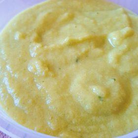 Receita de Papinha de Milho para Bebes de 7 Meses.