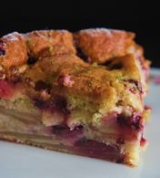 Receita de Torta Azedinha de Maçã e Amora