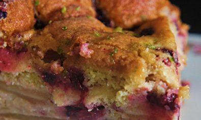 Fatia de torta Azedinha