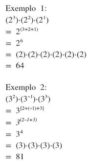 Potenciação - Multiplicação mesma base